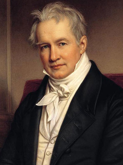 الکساندر فون هومبولت - بنیانگذار جغرافیای نوین