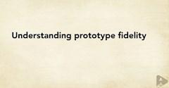 درک میزان وفاداری پروتوتایپ ها