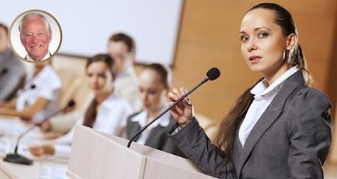 15 راه برای شروع یک سخنرانی