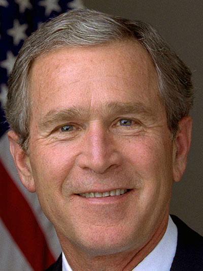 جرج دابلیو بوش