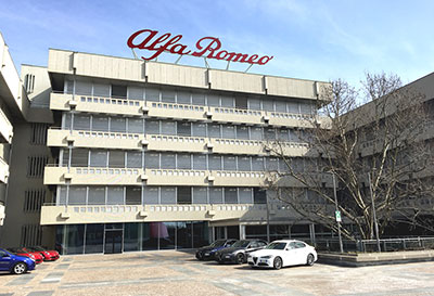 شرکت خودرو سازی آلفا رومئو