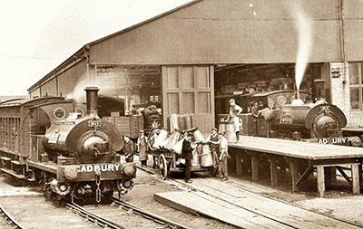 اوّلین لوکوموتیو بخار