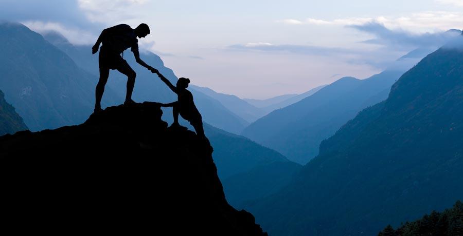 برای کمک گرفتن از دیگران قوی باشید