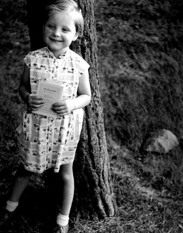 کودکی آنجلا مرکل