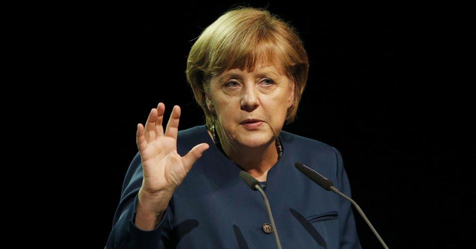 آنجلا مرکل اولین صدر اعظم آلمان