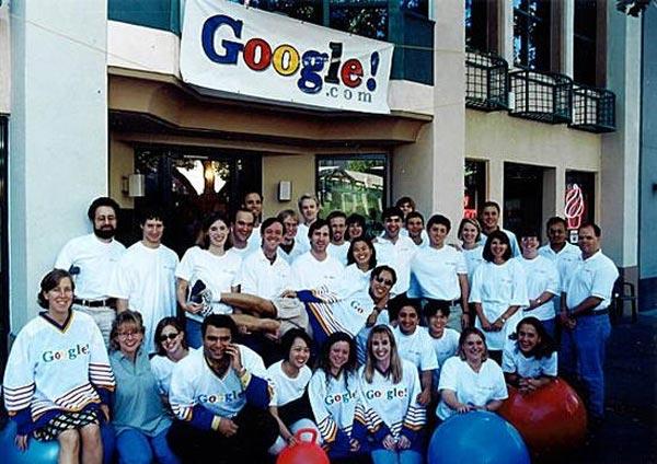 تاسیس شرکت گوگل
