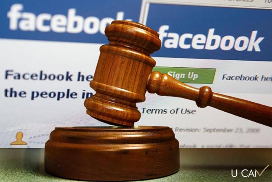 اولین چالش حقوقی فیس بوک