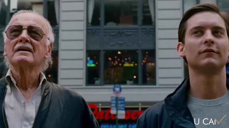 حضور استن لی در فیلم اسپایدر من