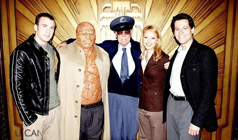 استن لی و چهار شگفت انگیز - Fantastic Four
