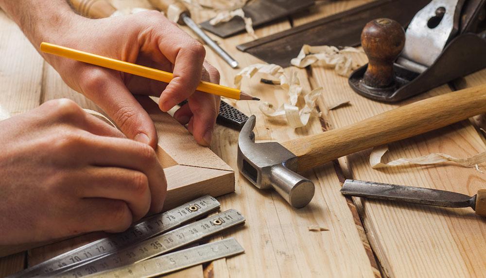 کار کردن با چوب