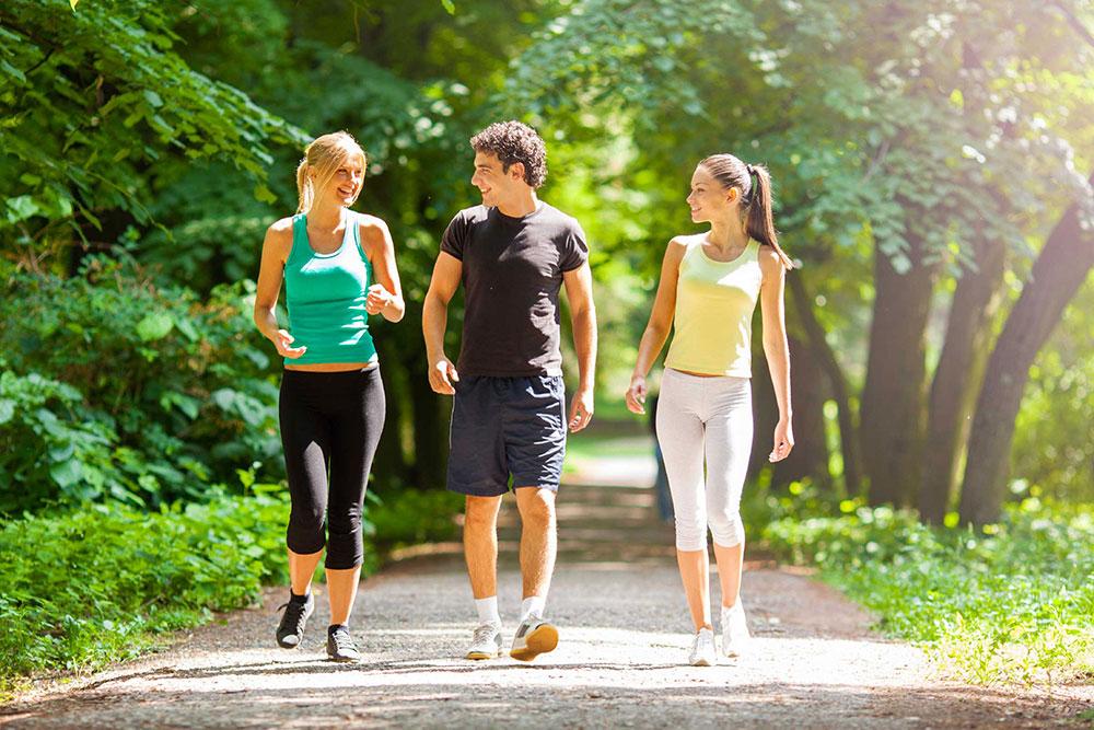 پیاده روی و افزایش بهره وری