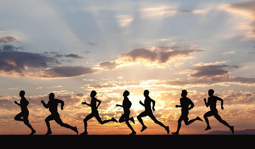 دویدن و افزایش بهره وری