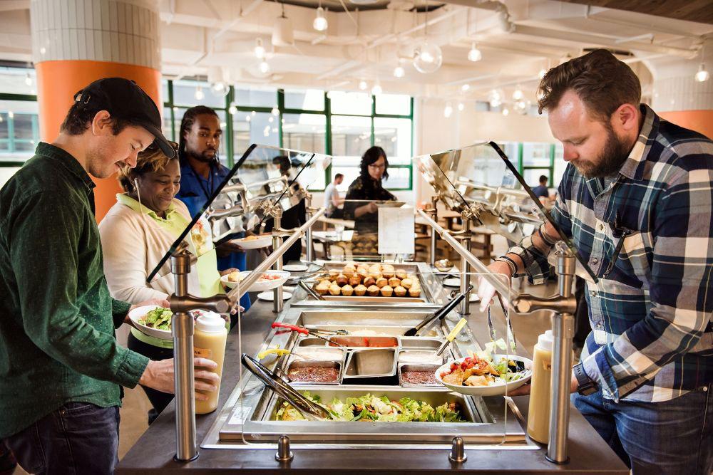 غذا و هنر برای بهره وری در محل کار