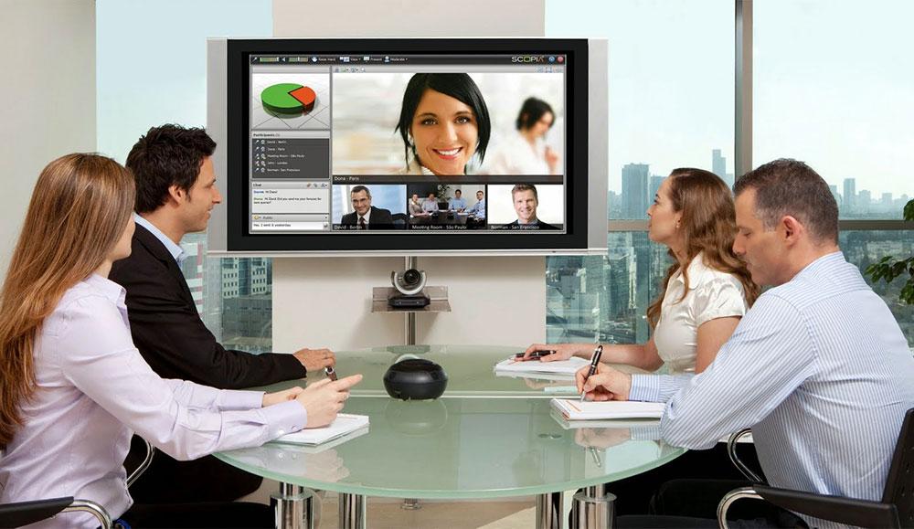 افزایش بهره وری با ارتباطات تصویری