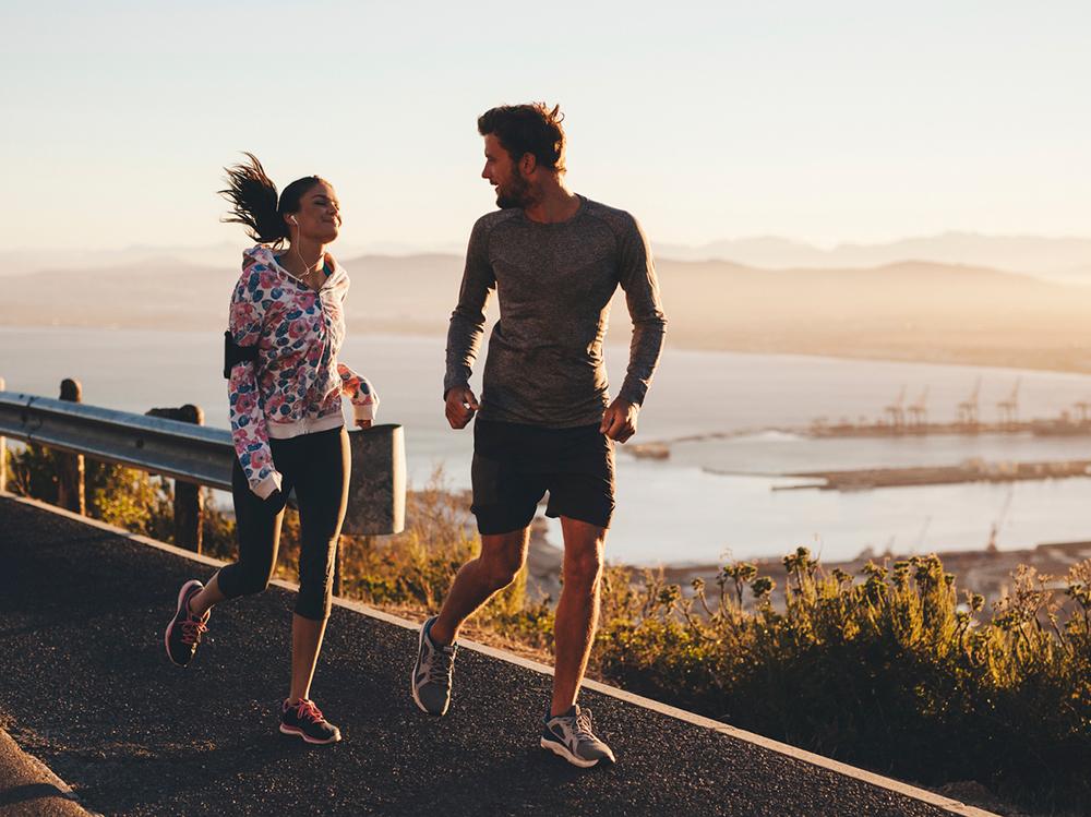 زندگی زناشویی - زندگی شاد - زندگی پایدار - ورزش در کنار یکدیگر