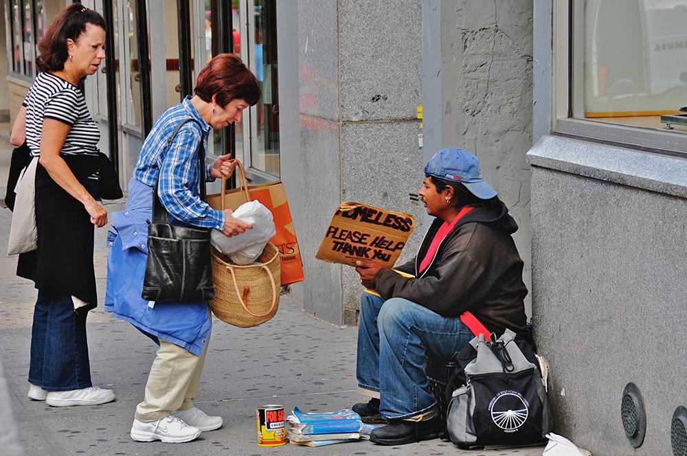 کمک به افراد بی خانمان - دنیای بهتر - زندگی بهتر