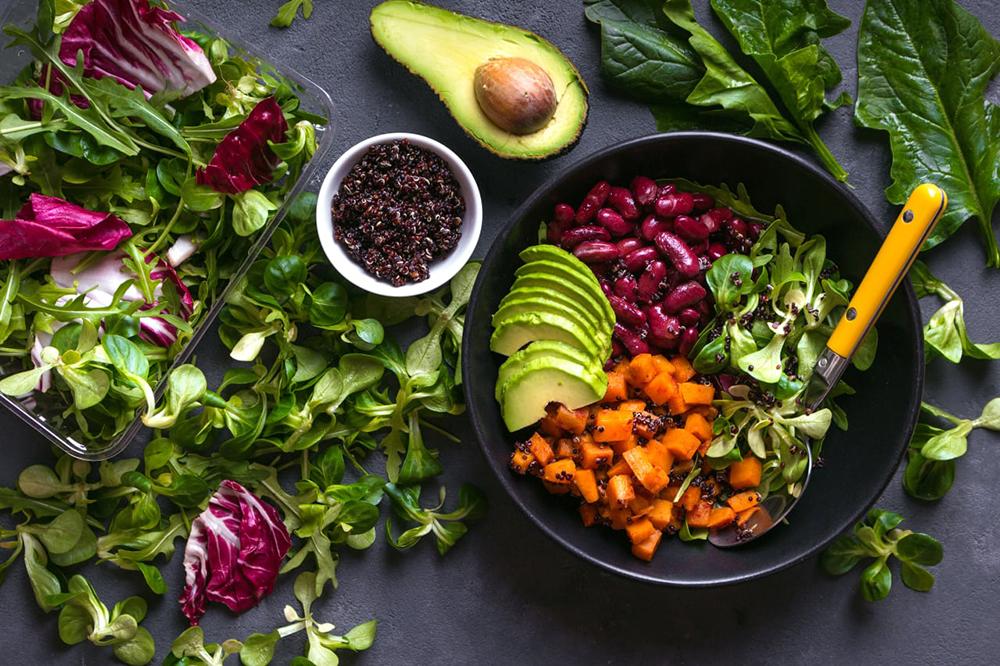 غذای سالم - رژیم غذایی مناسب - آشپزخانه پاک