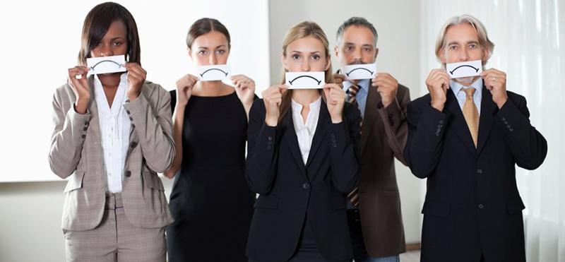 بی میلی برای همکاری - نارضایتی کارمندان