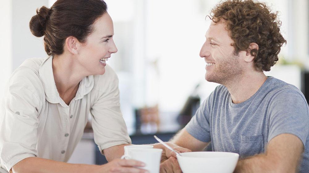 زوج خوشبخت - صداقت
