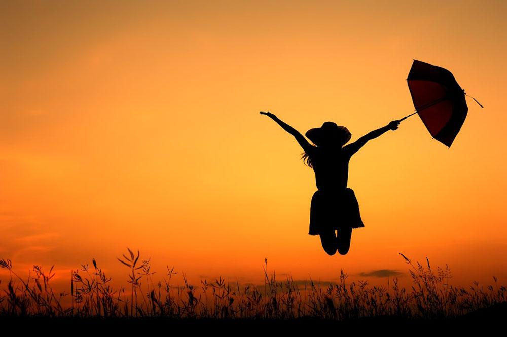 خوشبختی - احساس خوشبختی