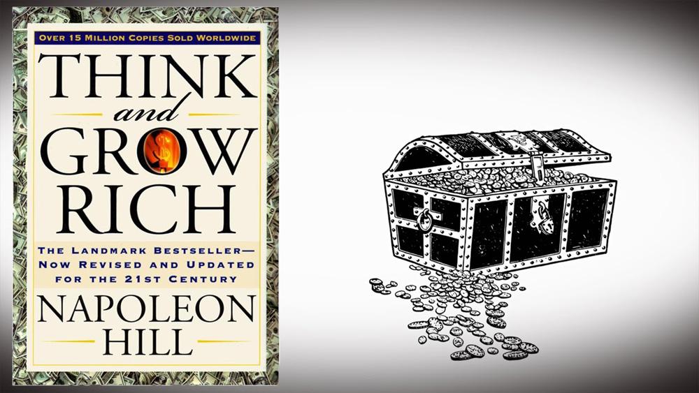 کتاب بیاندیشید و ثروتمند شوید - ناپلئون هیل - کتاب موفقیت - کتاب