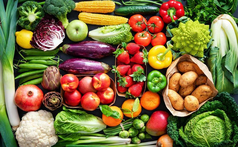 تغذیه سالم - رژیم غذایی - سبزیجات - زندگی سالم - تنفر از زندگی - دوست داشتن زندگی