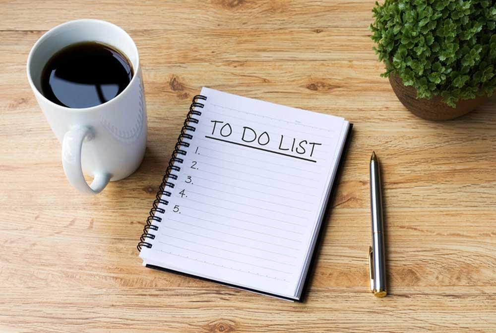 لیست یادگیری - to do list - یادگیری موثر - یادگیری دائمی - ویژگی انسانهای موفق