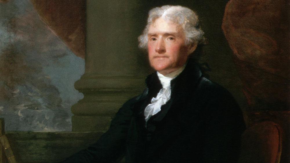 توماس جفرسون - Thomas Jefferson - قوانین بزرگان دنیا - بزرگان جهان
