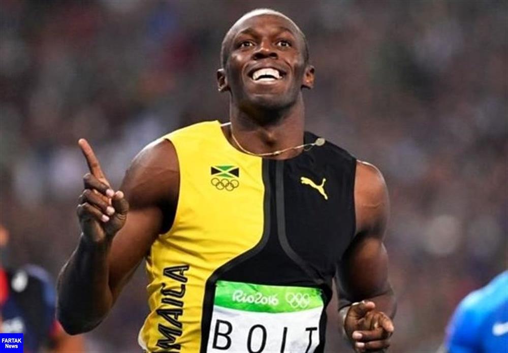 بولت - دونده - رشته دو - قهرمان المپیک - ورزشکار حرفه ای