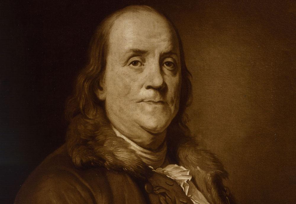 بنجامین فرانکلین - ثروتمندان تاریخ - افراد مشهور - افرادثروتمند
