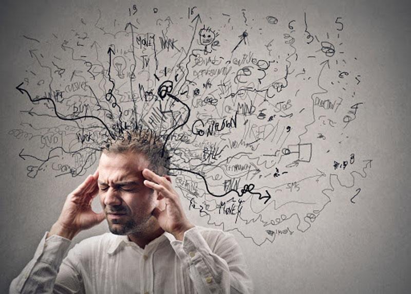نگرانی - عدم اطمینان - عادات اشتباه - از بین رفتن خلاقیت