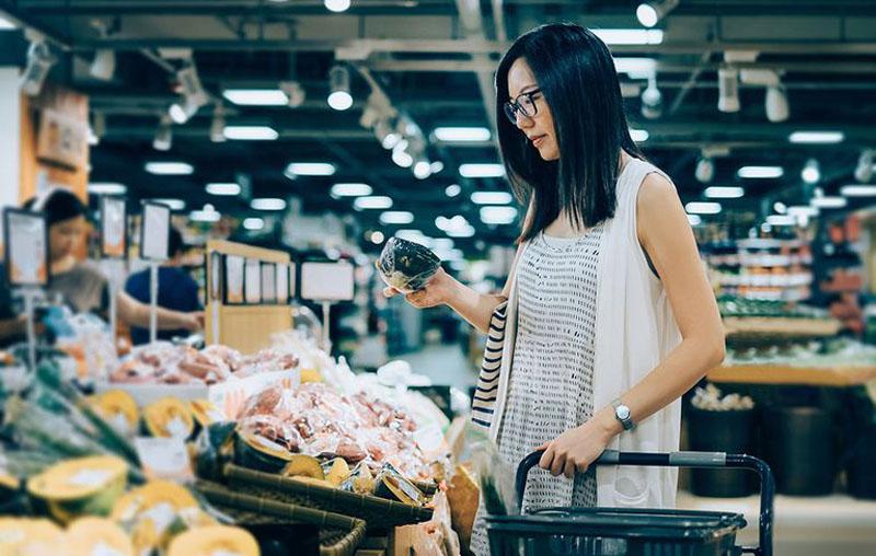 خرید - فروشگاه - برنامه غذایی - رژیم لاغری - لاغر شدن - سریع لاغر شدن - لاغری