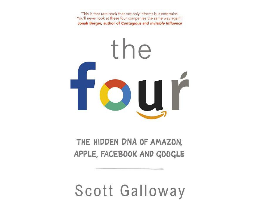این چهار تا: دیاِناِی مخفی آمازون، اپل، فیس بوک و گوگل - معرفی کتاب