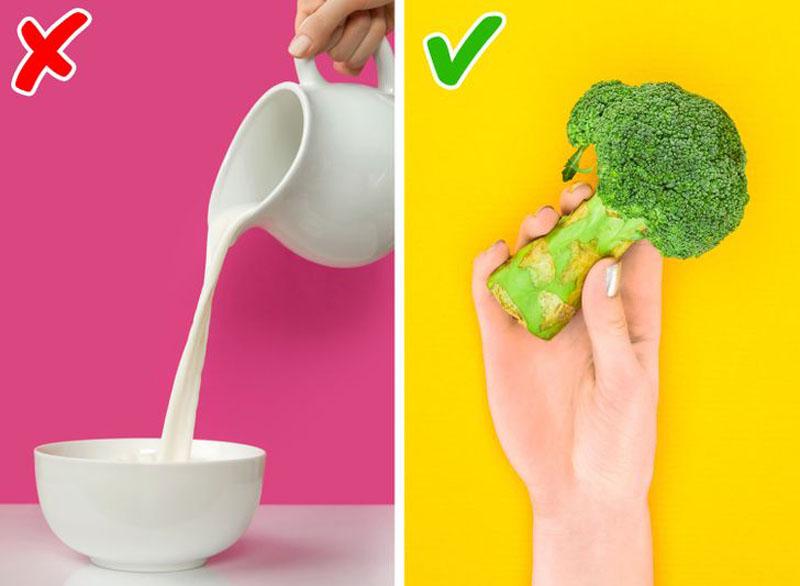 کلسیم - کلم بروکلی - کلسیم در سبزیجات - لبنیات - باورهای غلط درباره سلامتی