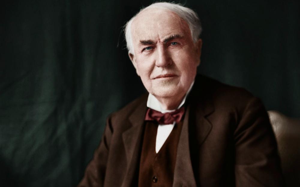 توماس ادیسون - نقل قول - پشتکار - جمله های انگیزشی