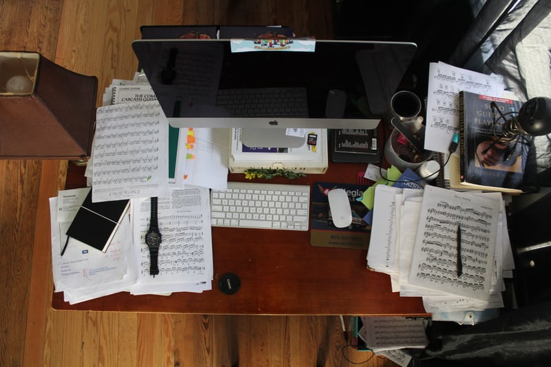 محیط کار -بی تظمی