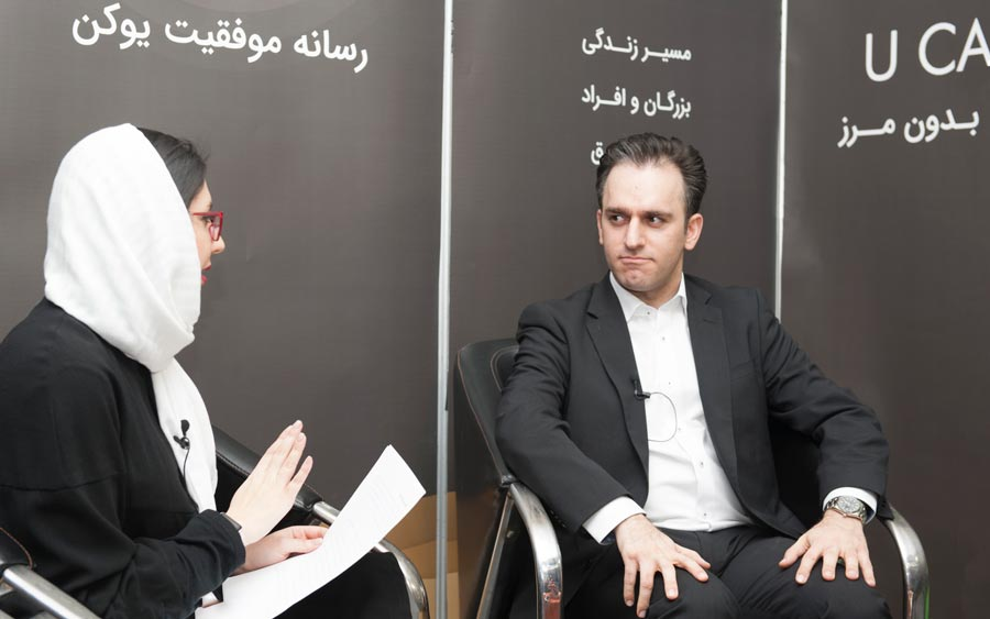 مصاحبه با علیرضا صادقیان بنیانگذار نت برگ و چیلیوری